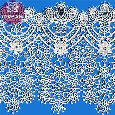 Top Seller Micro Fiber Lace Guipure Trim For Wedding Dress