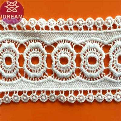 Fashion Style 100% Cotton Crochet Cotton Lace Trim For Garment