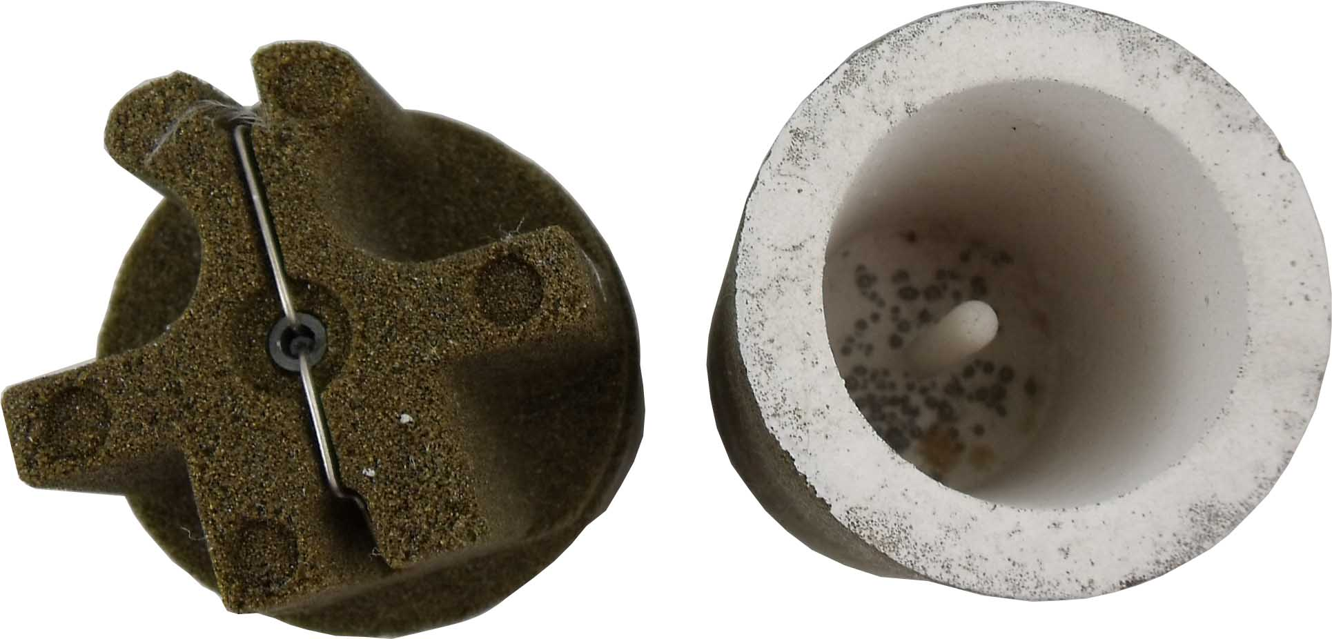 thermal analysis carbon cup for iron casting analysis