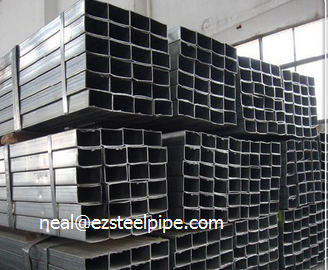 Erw Rectangular Steel Pipes For BuilErw Rectangular Steel Pipes For Building Materialding Material