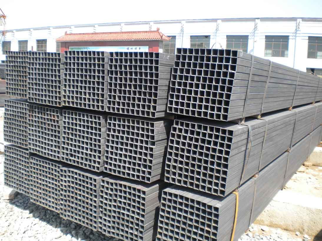 factory price black welded rectangular and square hollow section in China Dongpengboda