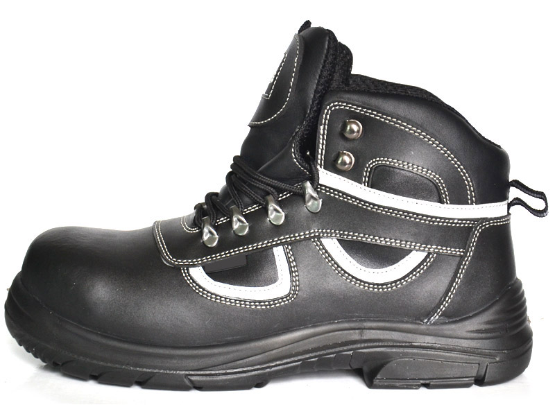 lace-up mid-cut safety shoes company/factory
