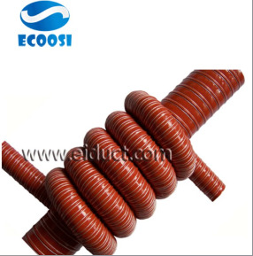 High Temperature Silicone Air Ducting Ventilation Hose