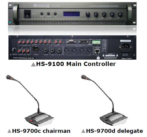 Multifunction Desktop Conference System HS-9100 HS-9700 Series