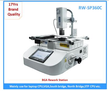 Hot sale laser position bga chip repair machine with factory price