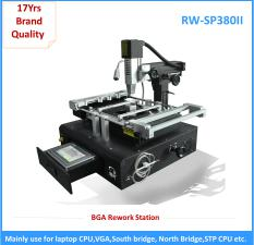 Economical bga rework station desoldering and soldering machine for laptop matherboard