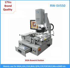 Hot air high-precision motherboard repairing equipment semi automatical reflow station for sale