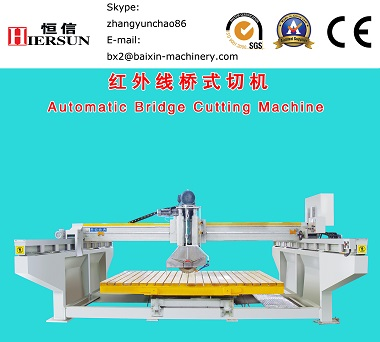 granite marble stone bridge cutting machine suppplier manufacturer