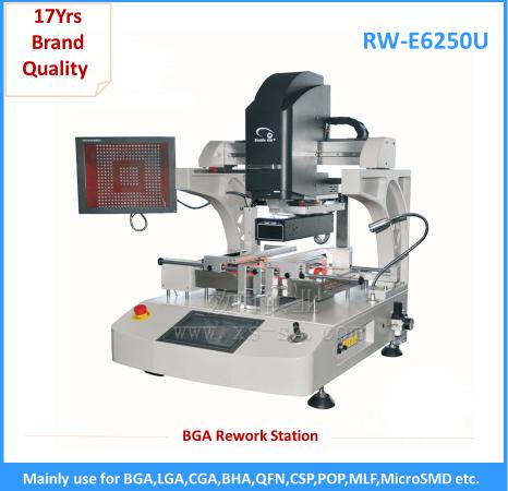 2016 new ir reflow soldering station  bga rework equipment with cell phone repair tool kit