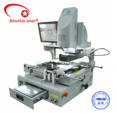 Shuttle star auto solder and desolder LED 0505 small spacing optical alignment rework station