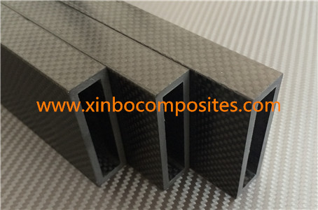 3k Carbon Fiber Rectangular Tube