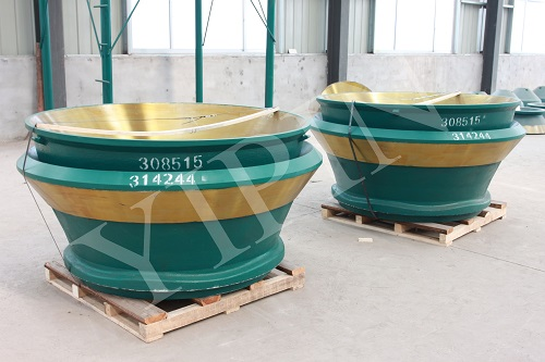 High manganese  wear-resistant liner plates of  cone crushers (Mn19Cr2Mo)