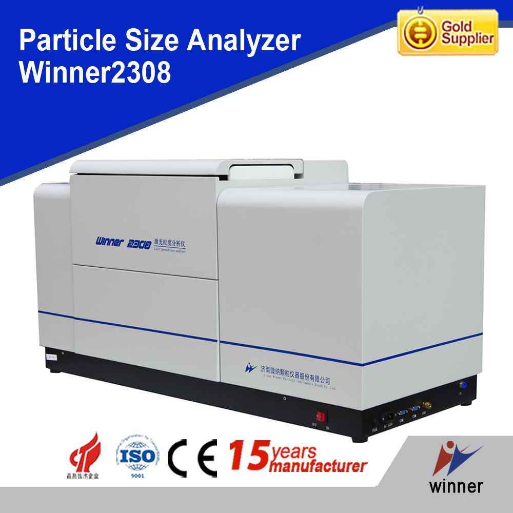 Winner2308 dry wet sampling dispersion system laser particle size analyzer