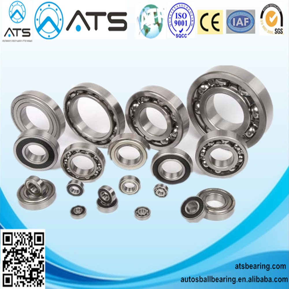 Deep groove ball bearing 6000, 6200, 6400, 6700, 6800, 6900 series