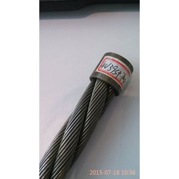 Flat No-rotating Steel Wire Rope 4v*39s