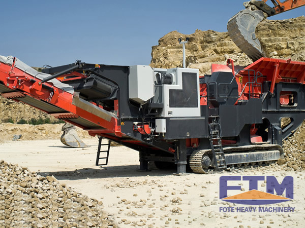 Mobile Crusher Plant /Portable Crusher Plant Stone
