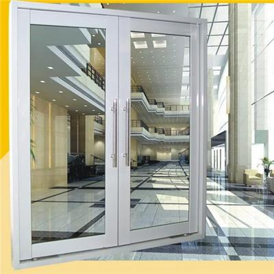 Chinese Factory Made Impact Resistance Commercial Type Aluminium Pivot Door