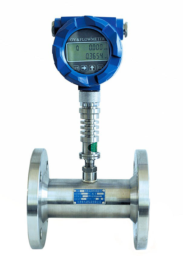 Oil And Gas Measuring Instruments : Gas turbine flow meter integration with liquid crystal