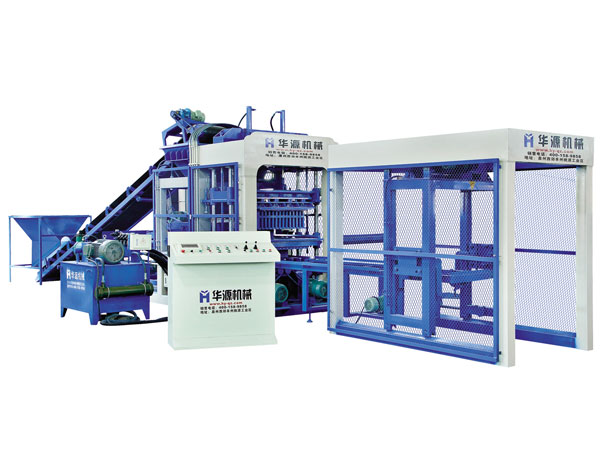 QT6-15 Full Automatic Concrete Block Making Machine