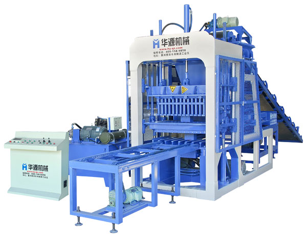 QT4-15 Full Automatic Concrete Block Making Machine