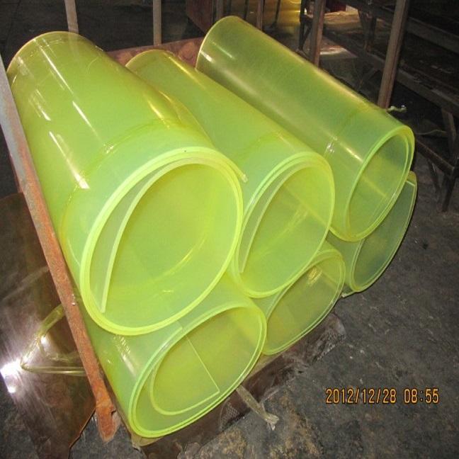 Zibo Tysan Light Industrial Products Co Ltd: High Quality Polyurethane PU Sheet/Polyurethane Rubber