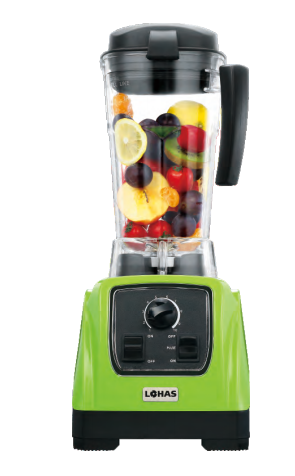 high speed commercial blender with  unique blade and tritan jar
