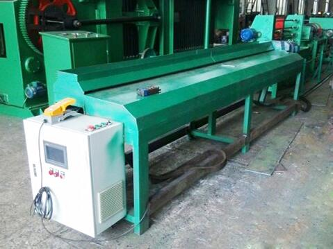 Hexagonal wire net edge winding machine for gabion