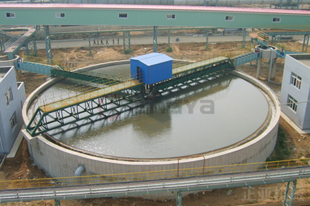 mineral concentration machine Dewatering Thickener with peripheral/central driving