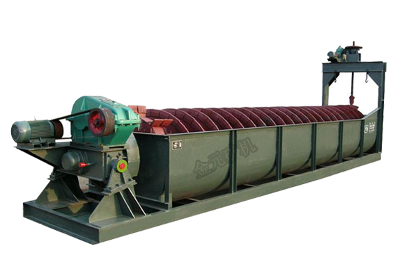 classifying equipment high-weir spiral screw classifier price in mining