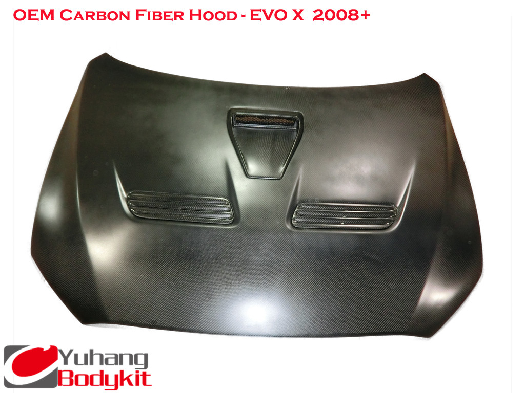 Carbon Fiber TS/Top Secret Style Rear Diffuser Type 2 with Metal
