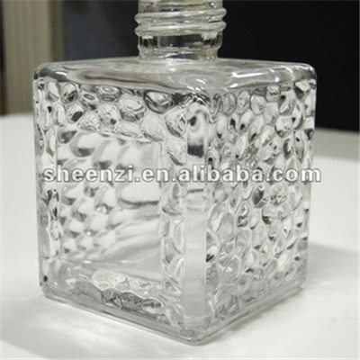 100ml Water Cube Aroma Reed Diffuser Glass Bottle