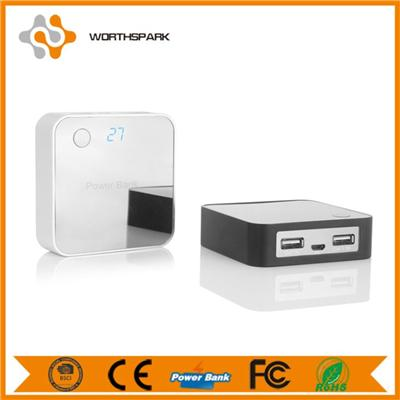 Power Bank With Mirror