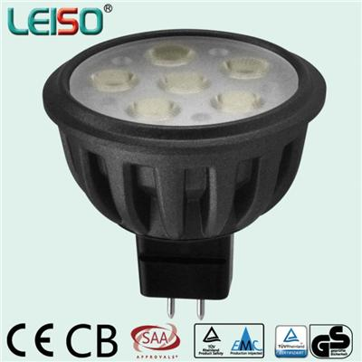 LEISO MR16 LED Spotlight 6W Dimmable And Non-dimmable 80Ra Fit Recessed Track Light - Accept Customization