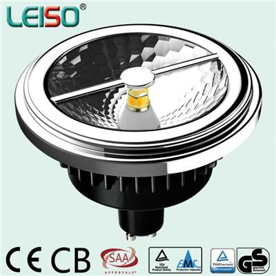LEISO SCOB AR111 LED Spotlight 12V Dimmable And Nondimmable GU10 Base 15W CRI 80 To 90 - Accept Customization