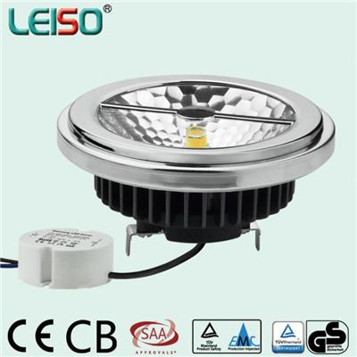 LEISO New Design SCOB LED Spotlight 15W Standard Size CRI 80 To 98Ra And Customized CCT With Dimmable And Non-dimmable G53 Base External Drive
