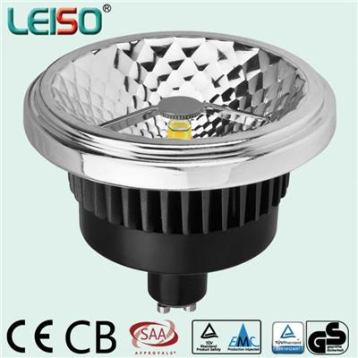LEISO Retrofit SCOB AR111 GU10 Base Dimmable And Non-dimmable 15W Replacement 75W Halogen Lamp External Drive 80Ra 90Ra 98Ra
