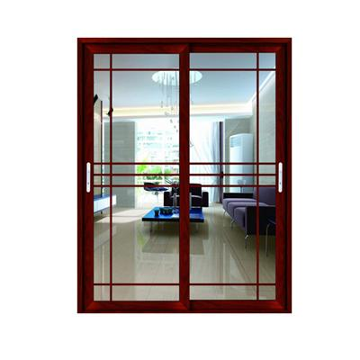 Get Your Own Designed Aluminium Sliding Door With Grid