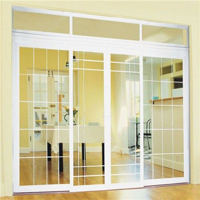 Good Feedback Double Glass PVC Door