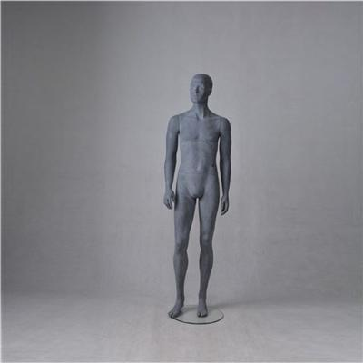 Abstract Male Sexy Grey Men Mannequin