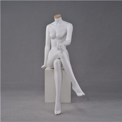 Fashion Seated Neck Cover Female Mannequin Wholesale