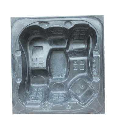 Square Resin Outdoor Spa Mold