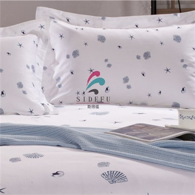 Hotel 100% Cotton High Quality Printed Pillow Case