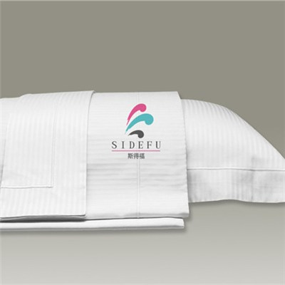 Five-star Hotel 1cm Satin Stripe Hotel Pillow Case