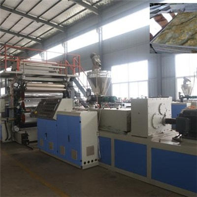 PVC UV Artificial Imitated Marble Panel Extrusion Machine