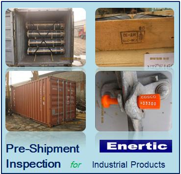 China industrial products pre-shipment inspection/delivery service