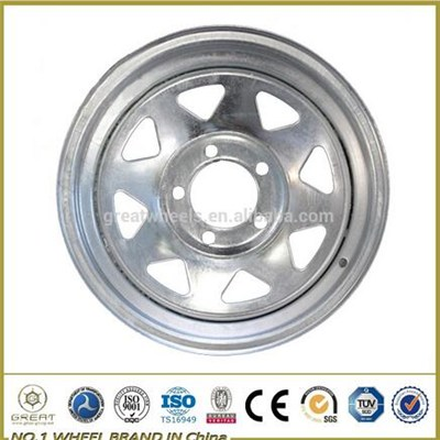 Universal Wheel Rim For New And Boat Trailers Used
