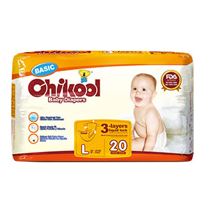 Best/Good quality Chikool baby diaper Factory From CHINA