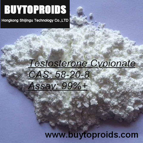 Pure Raw Testosterone Cypionate Steroid Powder Source