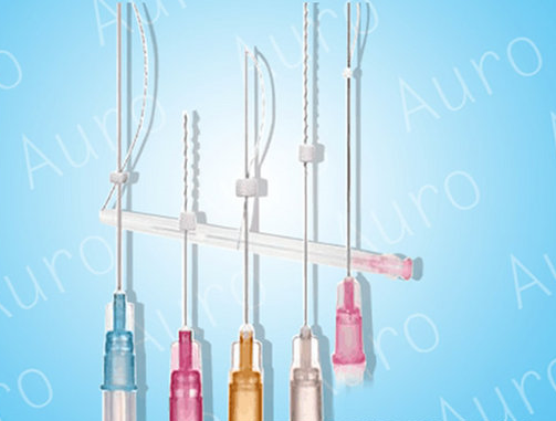 Skin Care V-line 3D Cog PDO Thread Lift Cannula