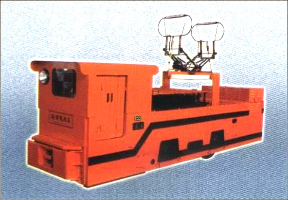 10T variable frequency speed-controller of trolley locomotive